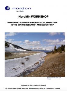 NordMin workshop