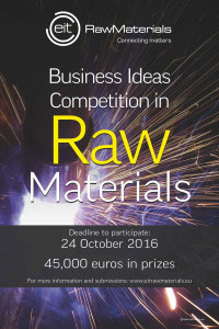 Business Ideas Competition in Raw Materials
