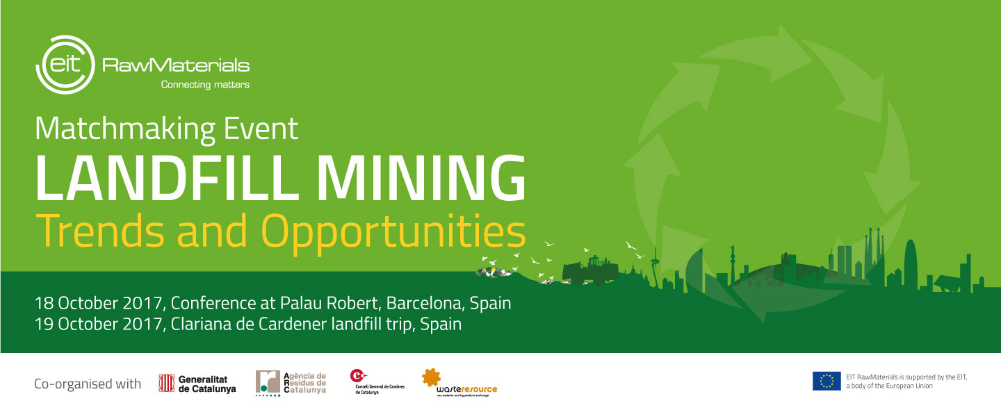 Landfill Mining Trends and Opportunities – EIT RawMaterials