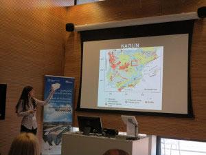 talking about kaolin deposits in Spain