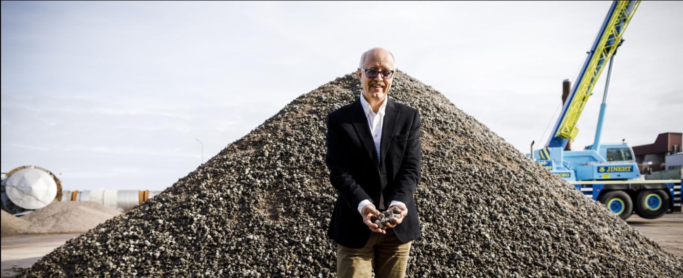 Höganäs Björn Haase has developed new raw material