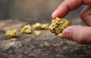 pure gold ore